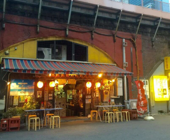Shinbashi tour - restaurant