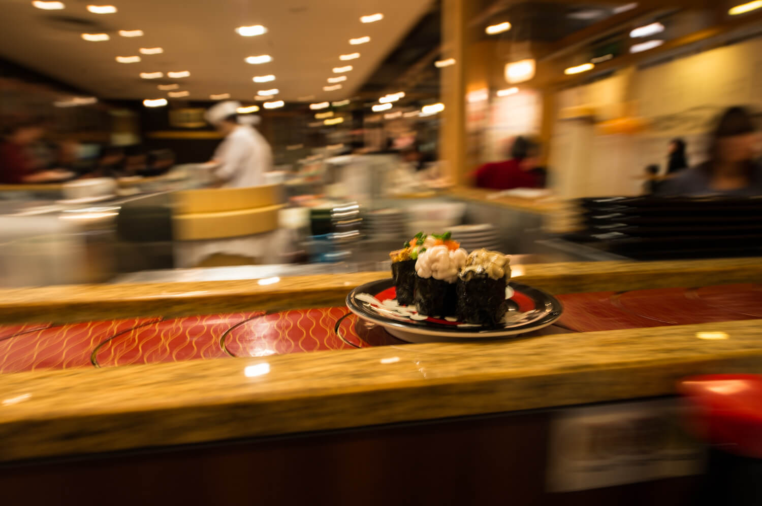 Sushi Go Round; the ins and outs of Kaiten
