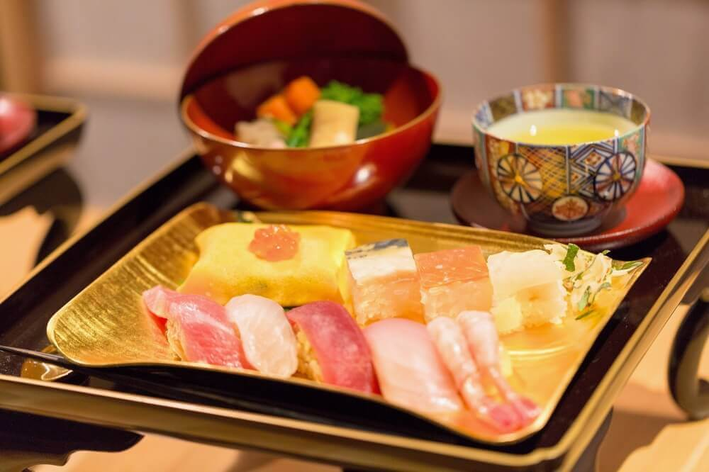 Top 5 Foods, Sushi