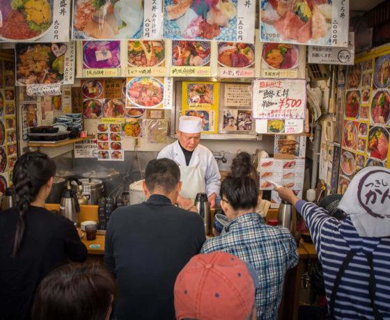Classic Tsukiji Market Tour