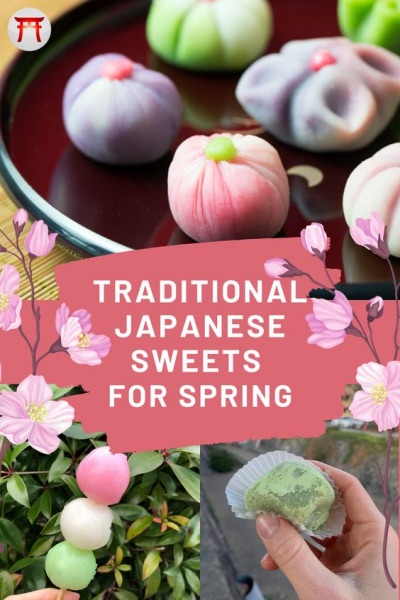 Traditional Japanese Sweets for Spring