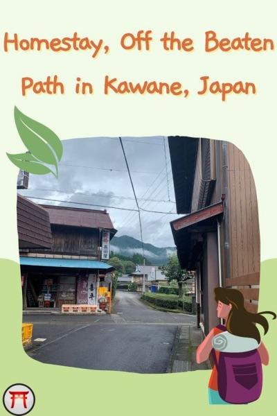 HOMESTAY, OFF THE BEATEN PATH IN KAWANE, JAPAN