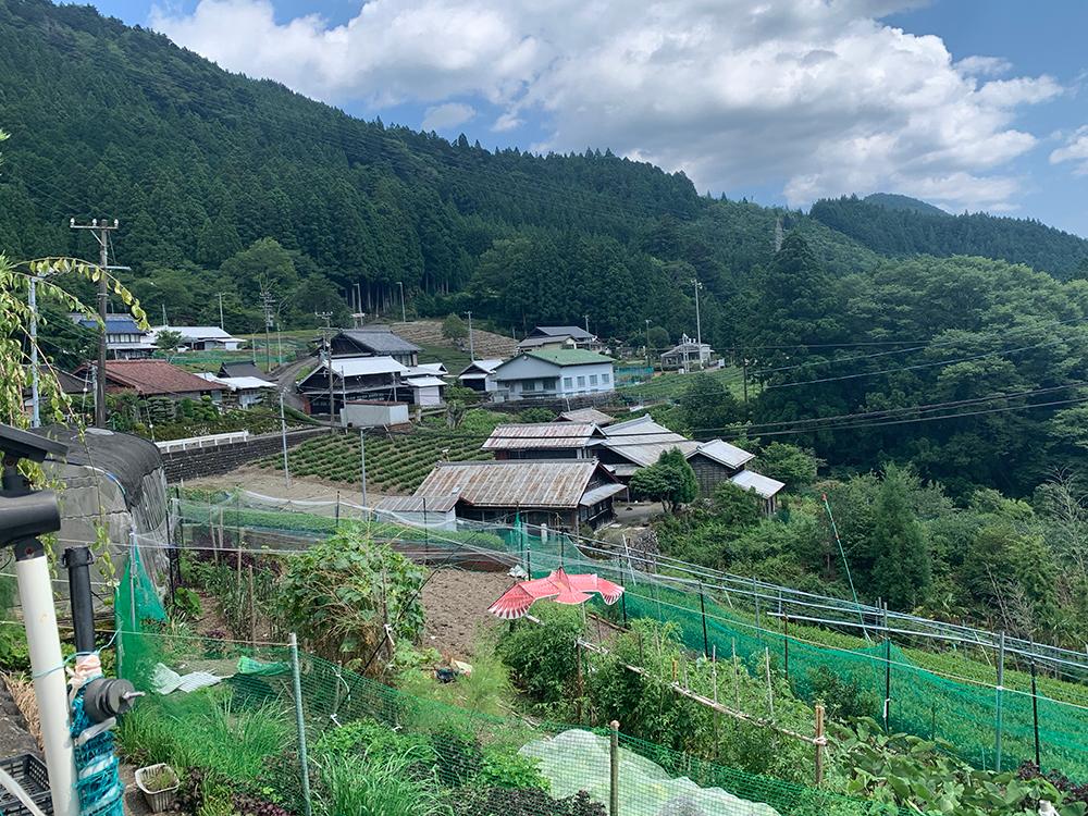Moutain town Kawane