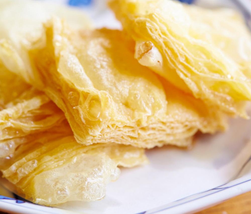 Dried yuba